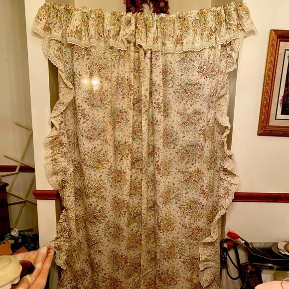Vintage curtains